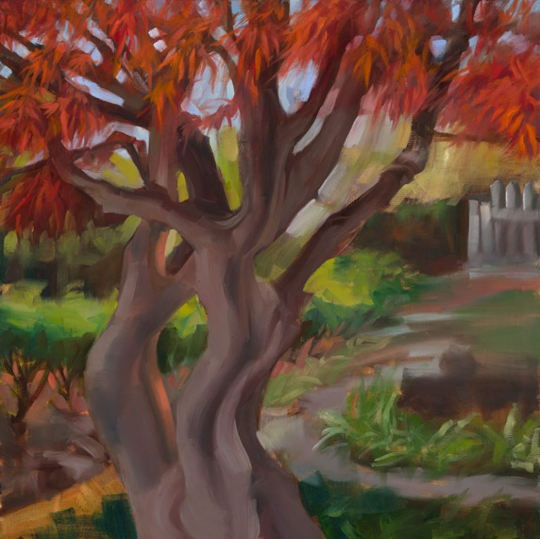 At the Perry<br>Oil on canvas