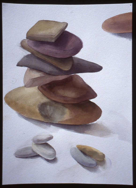 "Balanced<br>Watercolor, 15"" x 24"""